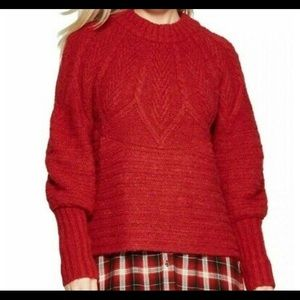 Red Universal Threads Sweater NWT